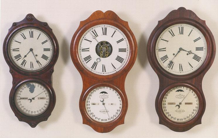 Peter Zaharis Clock Collection Munger Abner Jones
