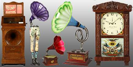 Antique Phonograph, Music Box & Clock Auction Featuring The Lifetime Collection of Dr. Richard Pope