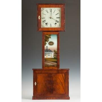 New England Wood Works Banjo Clock