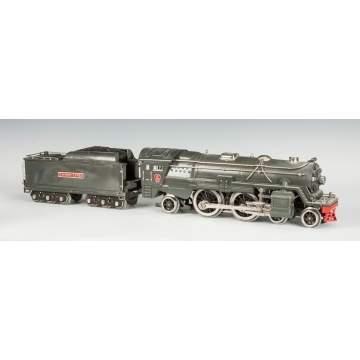 Clock, Music Box, Military & Train Auction   Trains
