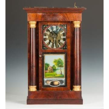 Crane's Patent Mfg. by J.R. Mills & Co., Rotary Ball Clock
