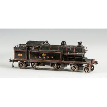Marklin Clockwork Engine, L & NWR #44