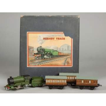 Hornby Tin Plate Clockwork Train