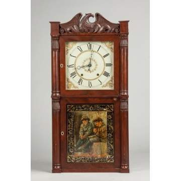 Henry Terry Shelf Clock
