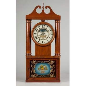 George Marsh Hollow Column Shelf Clock