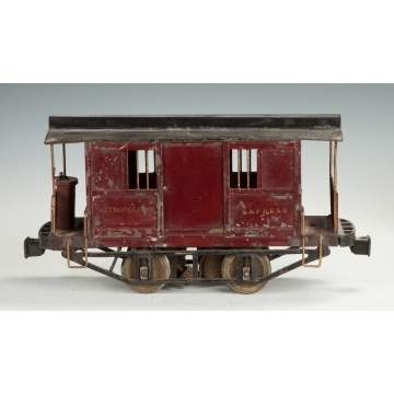 "Early Lionel Metropolitan Express ""Jail Car"""