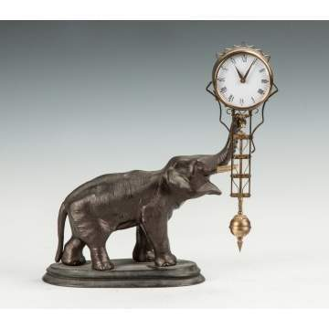 Junghans Elephant Swinger Clock