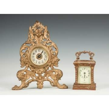 Victorian & Ansonia Shelf Clocks