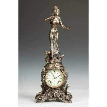 "Ansonia ""Cymric No. 1176"" Shelf Clock"