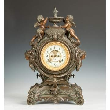 "Ansonia ""Lydia"" Shelf Clock"