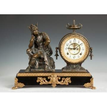 "Ansonia ""Mercury"" Shelf Clock,"