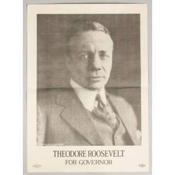 Theodore Roosevelt for Governor Poster