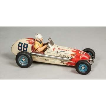 Vintage Sanyo Toy's Co., Champion's Friction Racecar #98