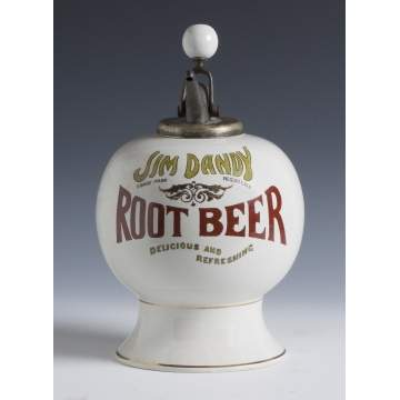 Rare Jim Dandy Root Beer Dispenser