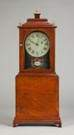 Fine & Rare Stephen Taber, MA, Shelf Clock