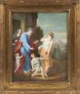 Dresden Hand Painted Porcelain Plaque