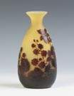 Galle Cameo Vase with Blackberries