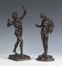 Bronze Sculptures of Greek Figures