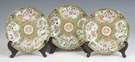 Three Ulysses S. Grant Chinese Porcelain Dessert Plates