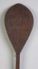 Hervey Island Carved Paddle