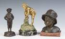 Bronze Sculptures of young boys
