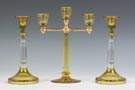 Hawkes Three Arm Candle Holder