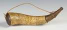 Revolutionary War Era Powder Horn