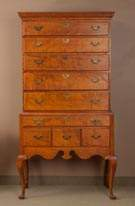 Figured Maple Highboy