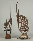 Two African Ceremonial Headdresses