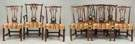 Set of Eight Period Chippendale Dining Chairs