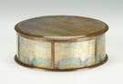 Tiffany Gilt Bronze & Iridescent Glass Box