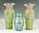Loetz Decorated Vases
