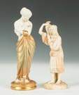 Two Royal Worcester Figures of Women