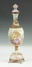 Viennese Enamel on Copper Covered Vase