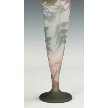 Galle Cameo Vase with Freesia