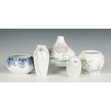 Group of Rorstrand Porcelain