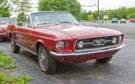 1967 Mustang 2-Door Candyapple Red Convertible