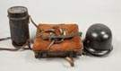 WWI Soldier's Backpack, Gas Mask & Helmet