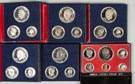 Six Bicentennial Silver Proof Sets