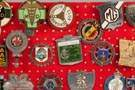 Group of Automobile & Car Club Badges