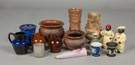 Group of Fifteen Assorted Pieces of Art Pottery