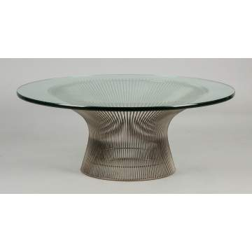 Platner Coffee Tables For Sale Prices Appraisals Auctions Rochester Ny