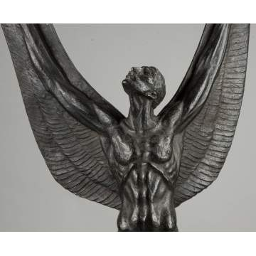"Charles Umlauf (American, 1911-1994) ""Spirit of Flight"" Bronze"