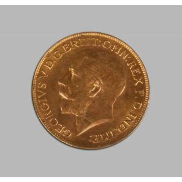 Great Britain Half Sovereign Gold Coin