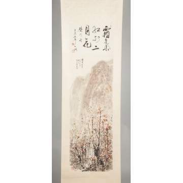 Japanese & Chinese Painted Scrolls