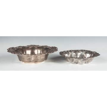 Whiting & Alvin Sterling Silver Bowls