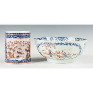 Chinese Export Mug & Bowl
