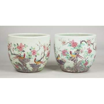 Chinese Porcelain Jardinieres