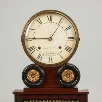 Joseph Ives Shelf Clock, Brooklyn, NY