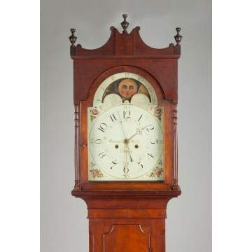 Emanuel Meily Tall Case Clock, Lebanon, PA